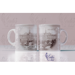 Taza Plaza Mayor Vintage