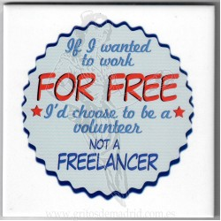 Azulejo Impreso Freelancer